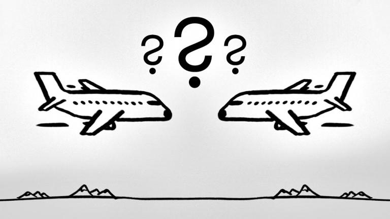 Защо да летиш в посока запад не е по-бързо?