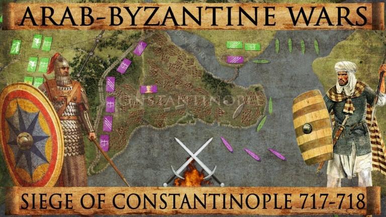 Обсадата на Константинопол 717-718
