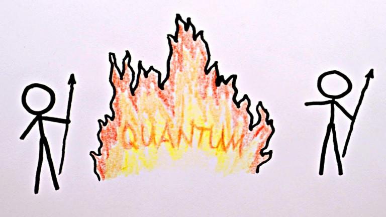 Произхода на Квантовата Механика (с Нийл Турок)